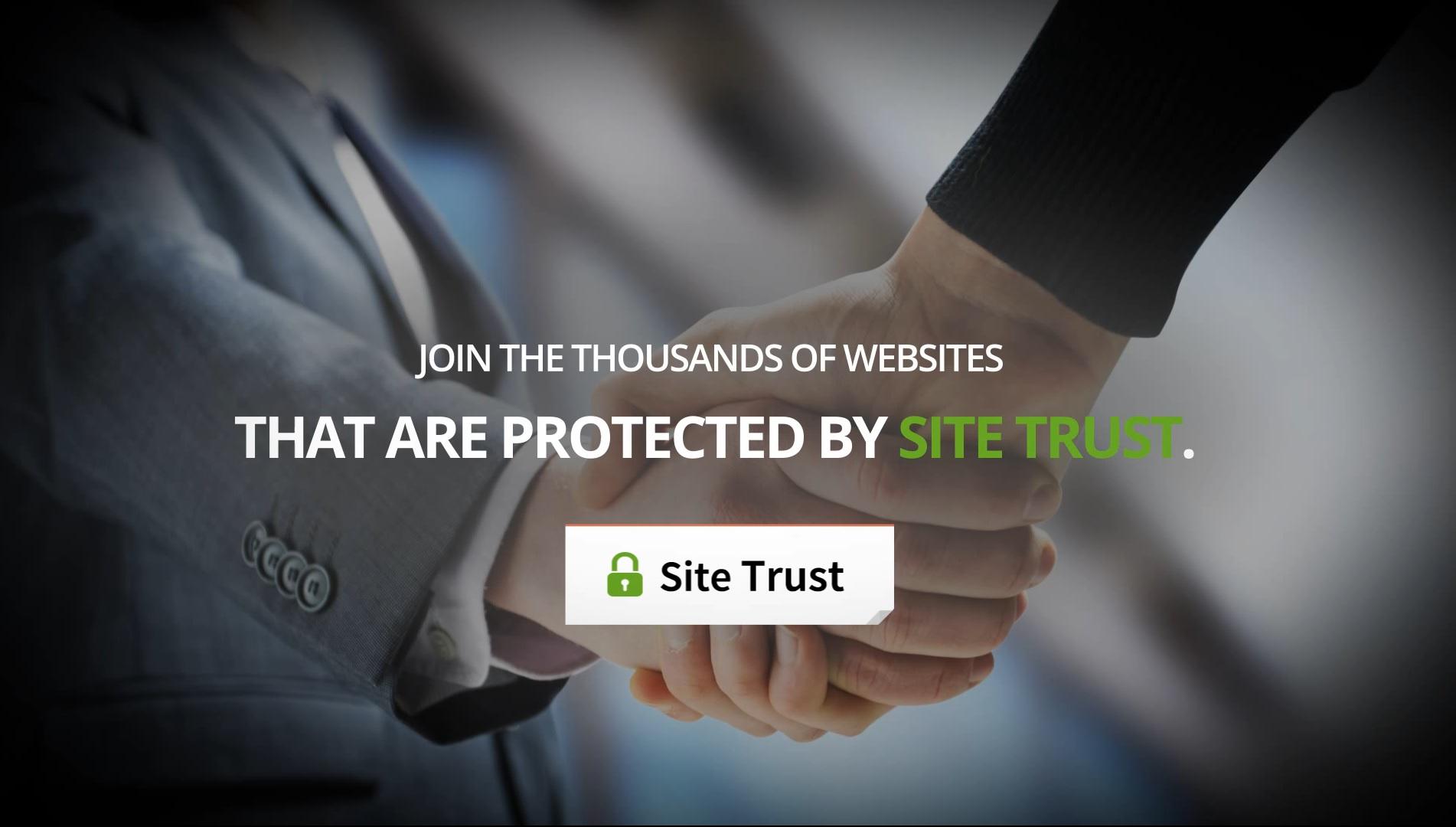 Promo video for SiteTrust